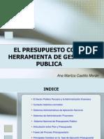 El presupuesto como herramienta de gestion publica - PERU .ppt