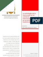 Estrategia Marc a Pa is Comercio Internacional
