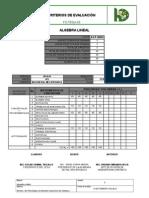 Criterios de Evaluación 1