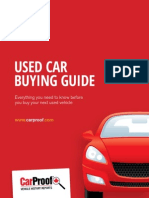 Car proof Used Car Buying Guide