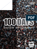 100 Days Review of NDA Govt