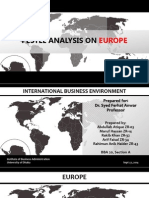 Europe - PESTEL analysis