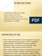 Rule of Law Dan Hak Asasi Manusia