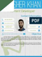 Résumé - Content Developer