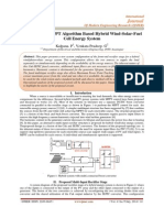 Simulation of MPPT Algorithm Based Hybrid Wind-Solar-Fuel Cell Energy System