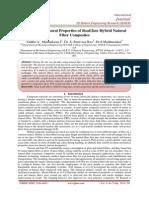 Tensile and Flexural Properties of Sisal/Jute Hybrid Natural Fiber Composites