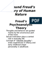 Freuds Theory of Human Nature