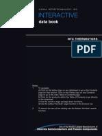 Vse-db0069-0610 Ntc Thermistors Interactive