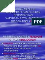 Format Bibliografi