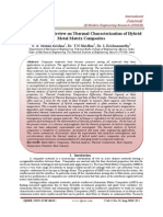 An Investigative Review on Thermal Characterization of Hybrid Metal Matrix Composites