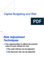 Risk and Capital Budgeting.ppt