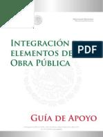 Guía de Apoyo Para La Integración de Elementosde Obra Pública v.5 Mayo 2013