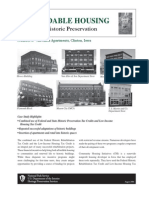 Case Studies in Affordable Housing Through Historic Preservation
