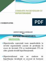 PROIECT HIPERTIROIDISM