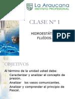 Clase 1.Fluídos