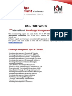KM Iran Call for Papers