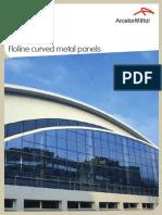 Arval Floline E-Floline curved metal panels