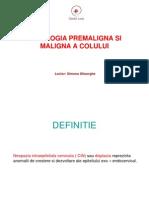 Patologia Premaligna Si Maligna a Colului (1)