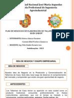 Dipositivas de Plan de Negocios