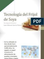 Tecnología Frijol de Soya