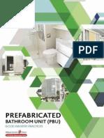 Prefabricated Bathroom Unit (PBU)