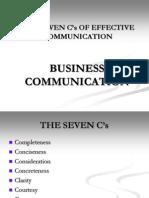 12774935 Seven Cs of Effective Communication