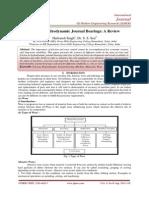 Wear In Hydrodynamic Journal Bearings