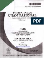 Pembahasan Soal UN Matematika SMK TKP 2014 Paket 1 (Belum Full Version).pdf