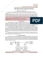 Power Quality Improvement Using FACT Devices
