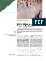 Intervista a Stefano de' Siena - Civiltà del Bere, ottobre-dicembre 2014