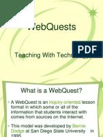 Teorie Webquest Pt Cerc