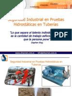 Seguridad Industrial en Pruebas Hidrostaticas de Tuberias