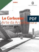 Le Corbusier - Arte de Arquitectura