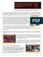 Bhopal PDF NEW 30th Anniversary Factsheet
