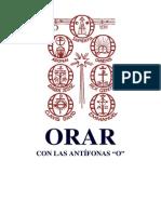 """ORAR CON LAS ANTÍFONAS """"O"""". Dom Próspero Guéranger, El Año Litúrgico"""