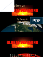 Presentation 1 on Global Warming