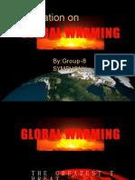 Presentation 1 on Global Warming