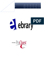 Ebrary User Demo - Tutorial Português