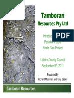 Tamboran Presentation