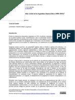 Cortes y Kessler - Miradas Sobre La Cuestión Social en La Argentina Democrática (1983-2013)