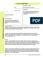 Human Capital Metrics Handbook Career Path Ratio example