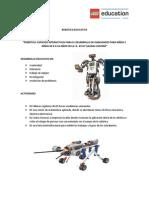 Proyecto Robotica IE 43157 Salinas Chiviria