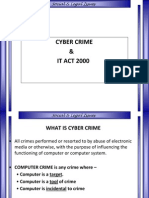 6- Cyber Crime and IT Act 2000