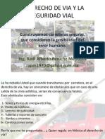 LA INSEGURIDAD VIAL Y EL DERECHO DE VIAL. NETWORKVIAL-MEXICO