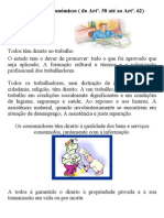 Direito e Deveres Económicos ( Do Artº.