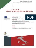 Stato e Regioni Nella Riforma Costituzionale - Macomer 15 Dicembre 2014