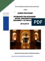 2014-15 Guide Etudiants Echange Entrants