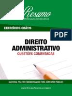 ResumoApostilas-QuestoesComentadasDireitoAdministrativo-ExercicioGratis