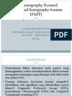 Alfan Endarto - Focused Abdominal Sonography Trauma ( FAST )