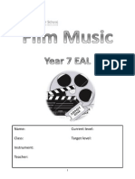 EAL Year 7 Film Music Booklet